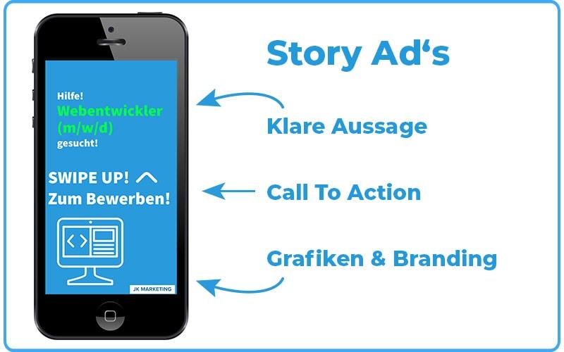 Instagram Recruiting Story Ads JK Marketing