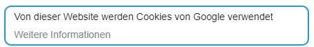 Website mit Google My Business erstellen Cookienotice JK Marketing